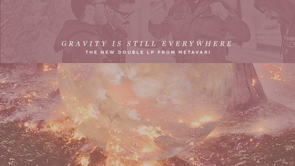 """Metavari is making a record: """"Gravity is Still Everywhere"""" project video thumbnail"""