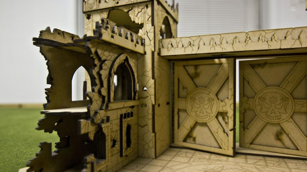 Tectonic Craft Studios New Line of War Games Terrain project video thumbnail