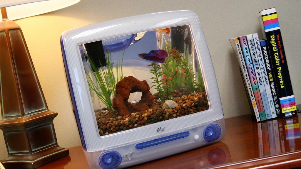 iMac Aquariums project video thumbnail