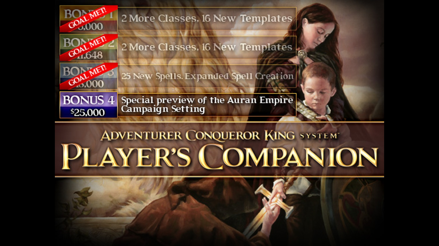 Player S Companion For The Adventurer Conqueror King Rpg