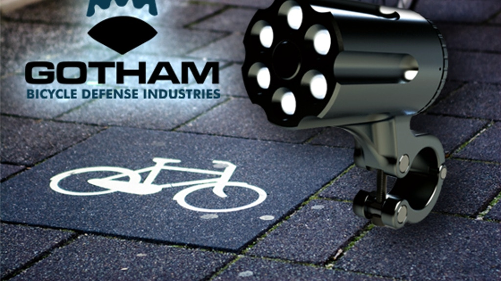 Theft-Resistant Bike Light by Gotham Bicycle Defense project video thumbnail