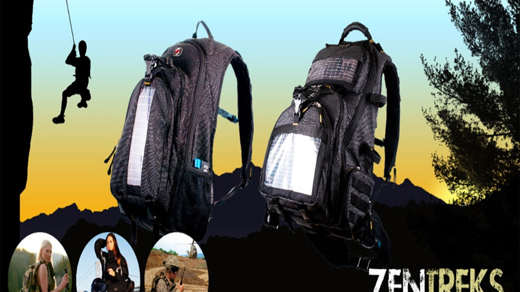 ZenTreks - Solar Powered Backpack/Mobile Power Solutions project video thumbnail