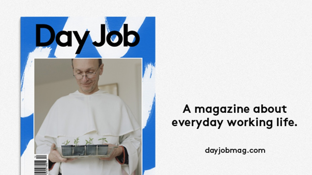 DAY JOB Magazine project video thumbnail