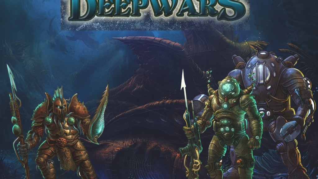 DeepWars - Tabletop Combat in the Abyssal Depths project video thumbnail
