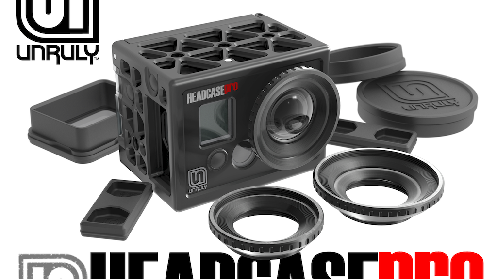 UNRULY - HEADCASE + HEADGEAR Housings for GoPro project video thumbnail