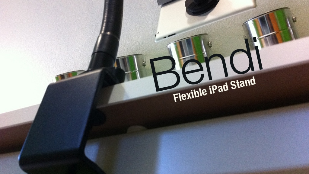Bendi - The iPad Stand Exactly Where You Want project video thumbnail