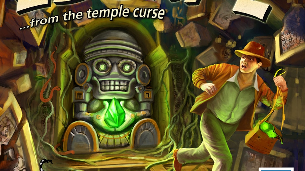 Escape... from the Temple Curse project video thumbnail