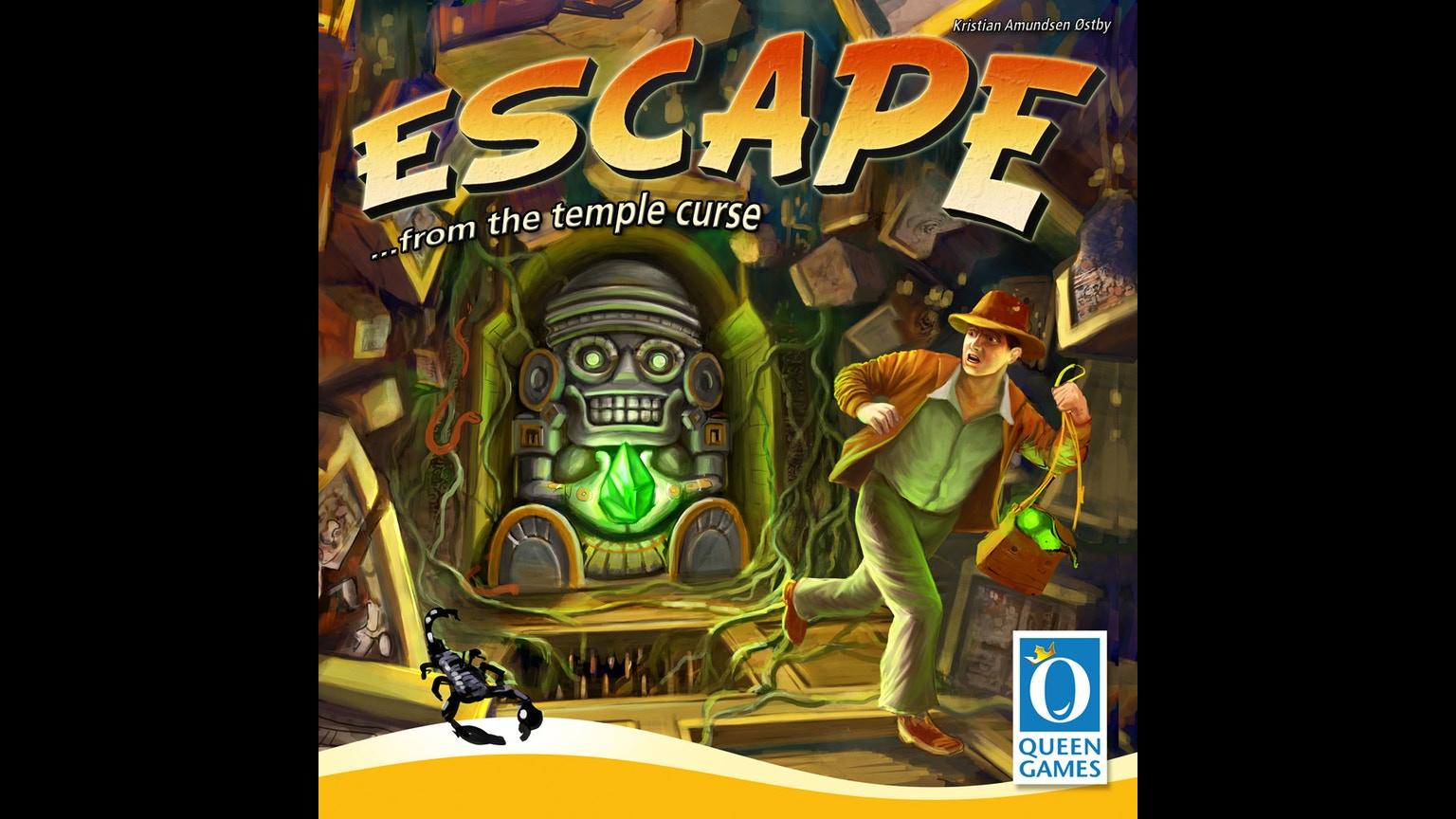 Escape From The Temple Curse By Queen Games Kickstarter