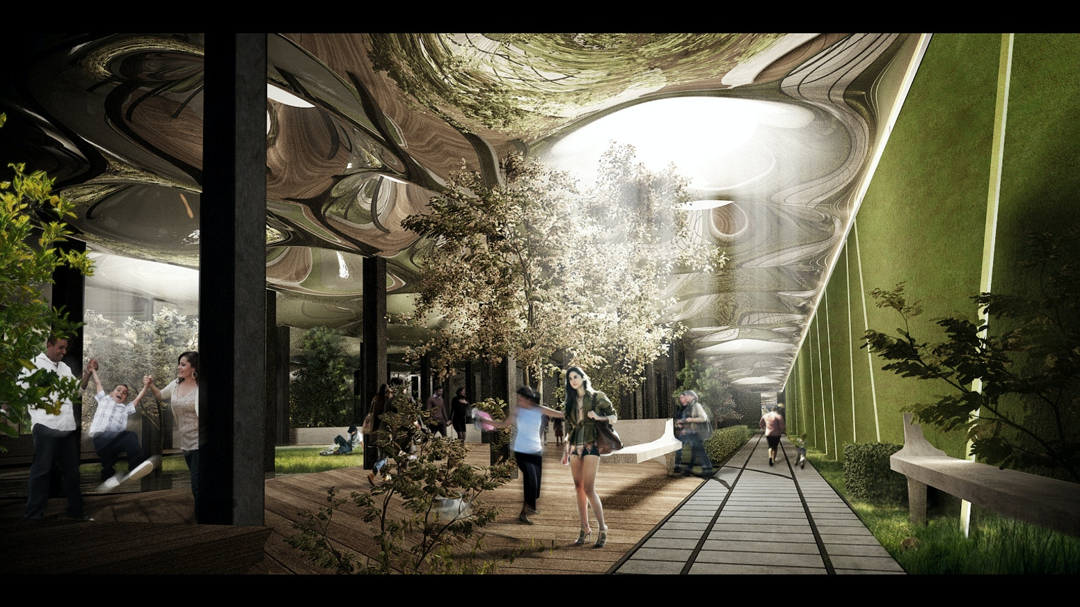 Lowline an underground park on nyc 39 s lower east side by for Indoor gardening nyc