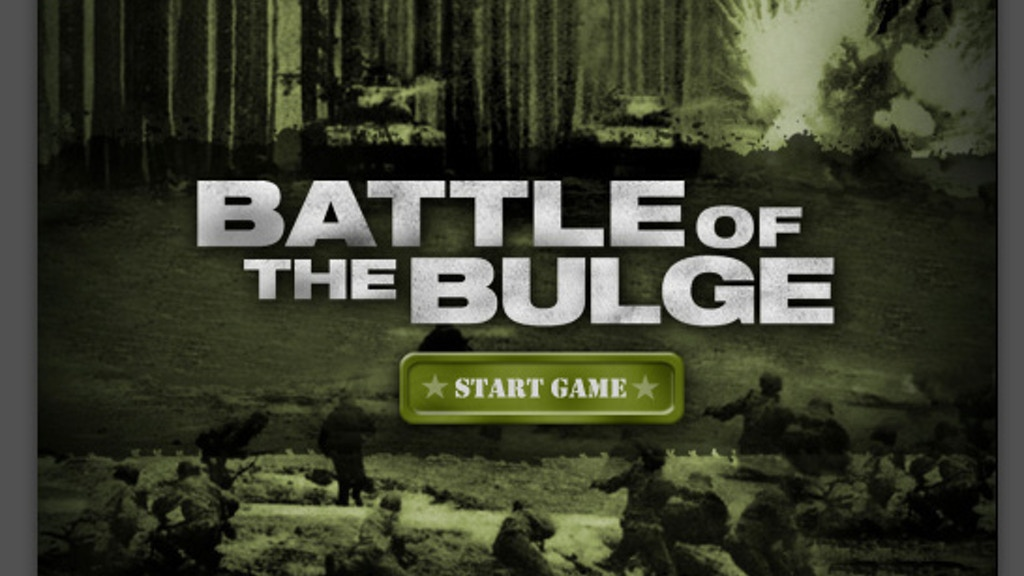 Project image for Battle of the Bulge IOS/Droid game