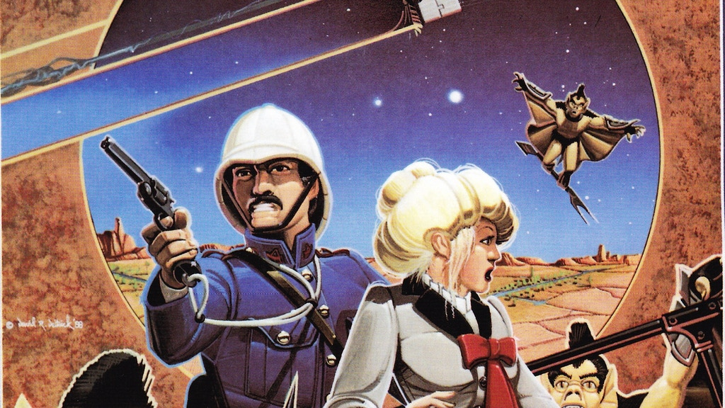 David Deitrick/R. Scott Taylor Retro-Steampunk Novel Launch project video thumbnail