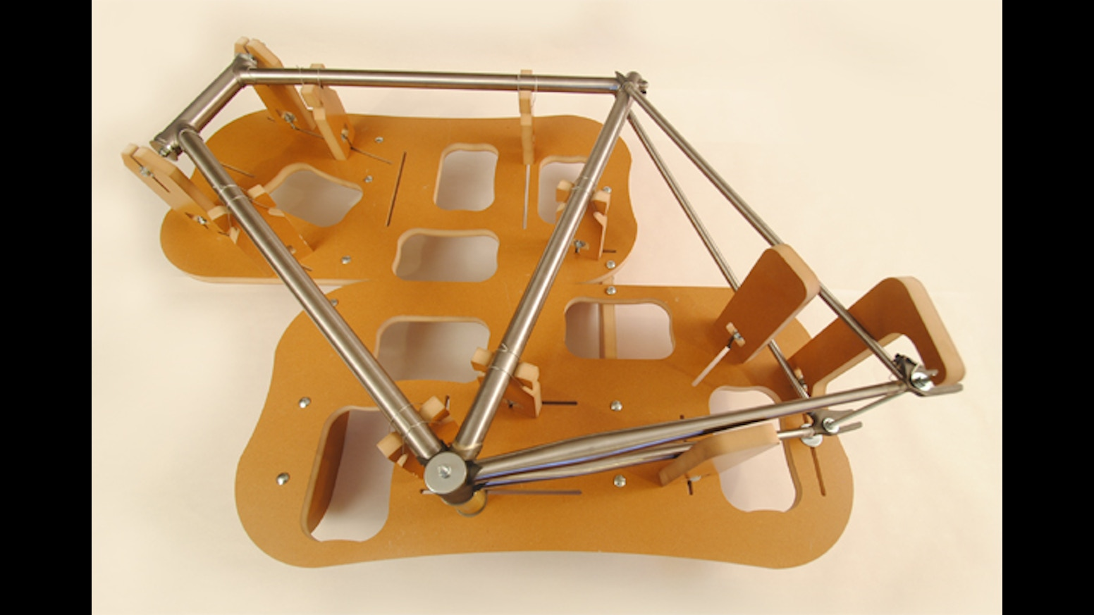 the jiggernaut is an inexpensive frame building jig that can help anyone build a custom high quality bicycle