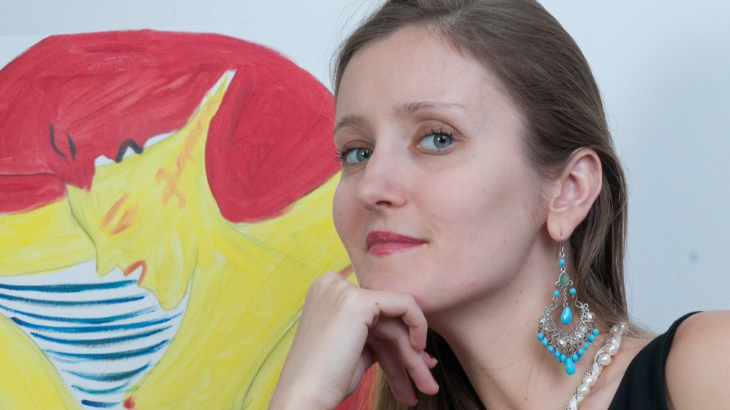 'Orange Evolution' project by self-taught Ukrainian artist project video thumbnail
