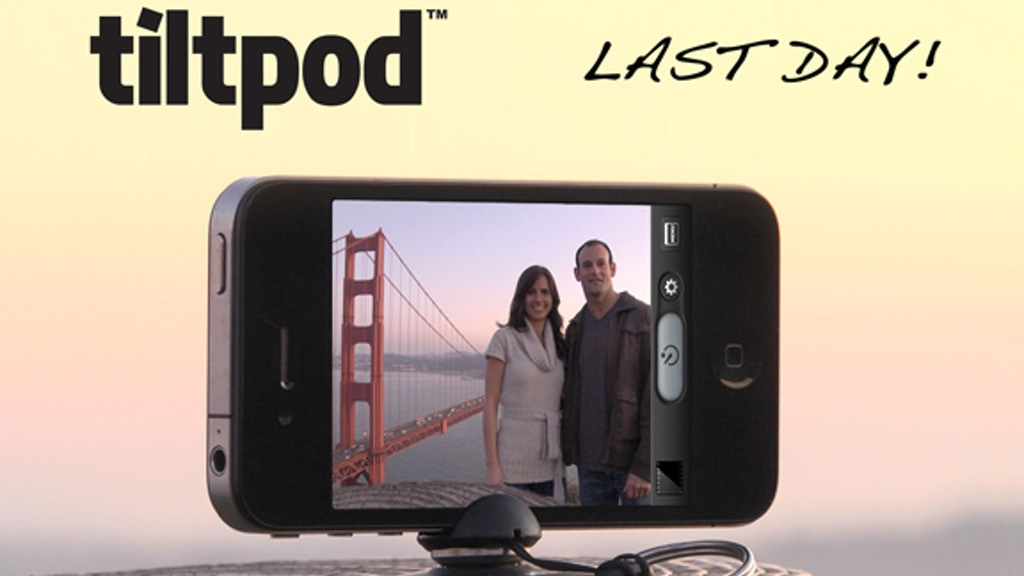 The tiltpod - world's smallest articulating iPhone stand project video thumbnail