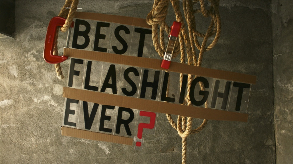 The Best Flashlight Ever. project video thumbnail