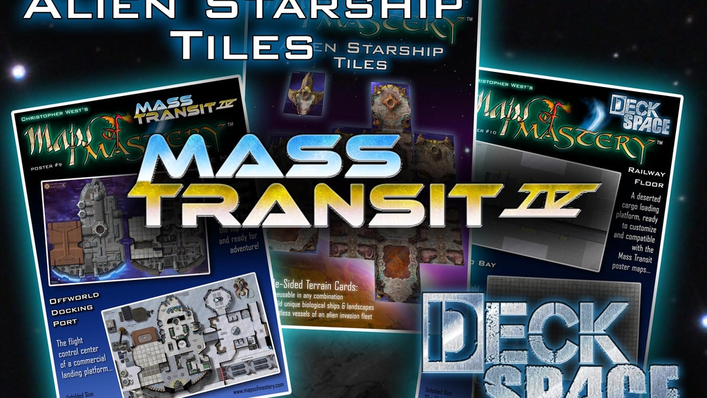 Mass Transit IV Maps & More project video thumbnail