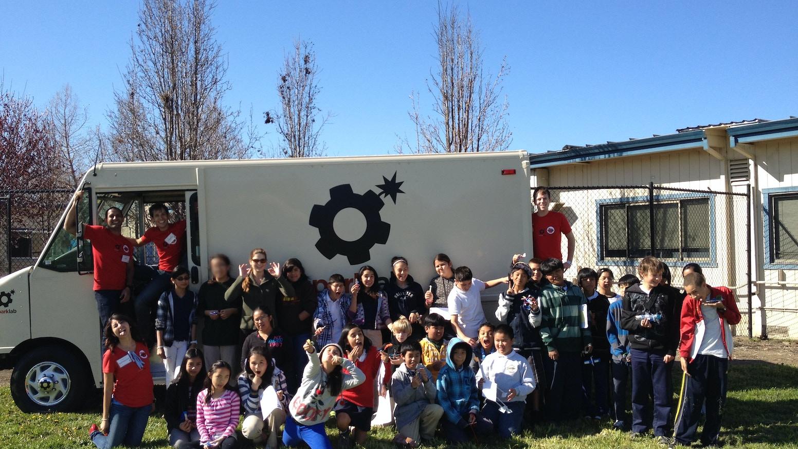 Truck Edge Mobile >> Sparklab The Educational Build Mobile By Jason Chua