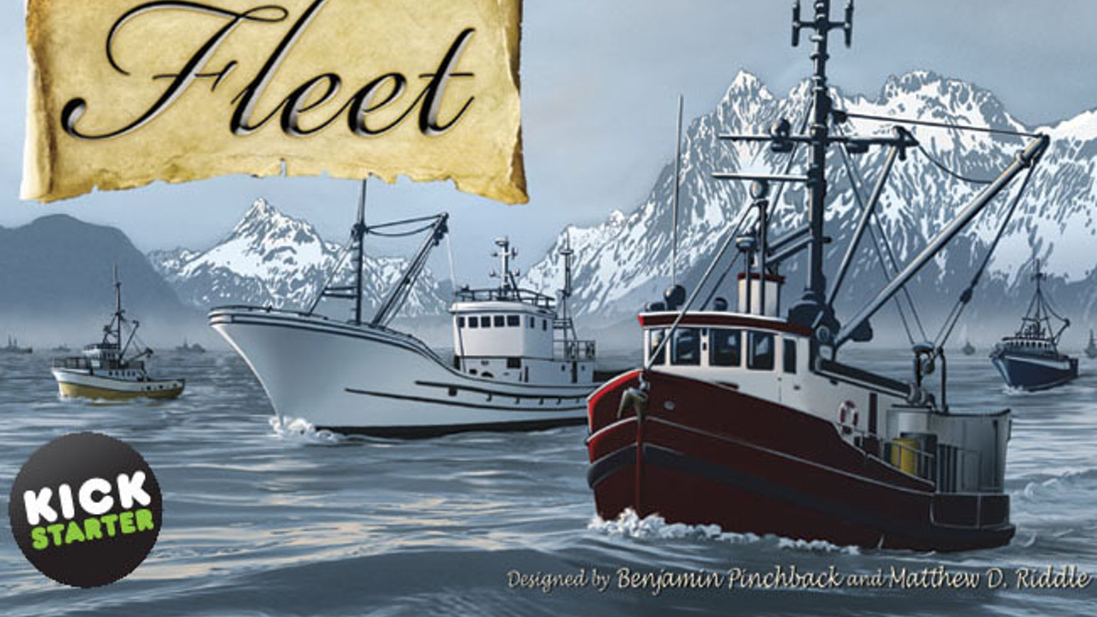 Fleet is a strategic card based game set around a unique commercial fishing theme.