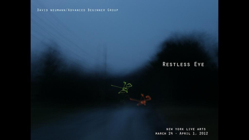 Restless Eye project video thumbnail