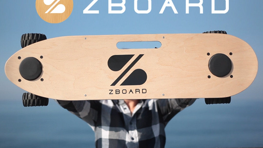 The ZBoard: The Weight-Sensing Electric Skateboard project video thumbnail