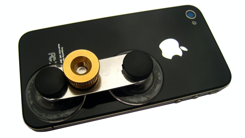Piquant: Low-Cost Universal Smartphone Tripod Mount project video thumbnail