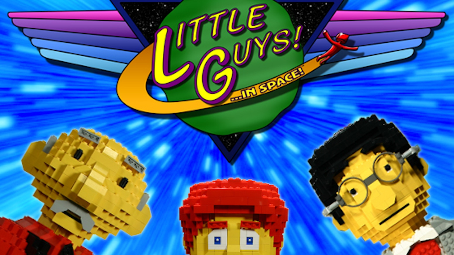 Little Guysin Space A Lego Fan Film From Paganomation By
