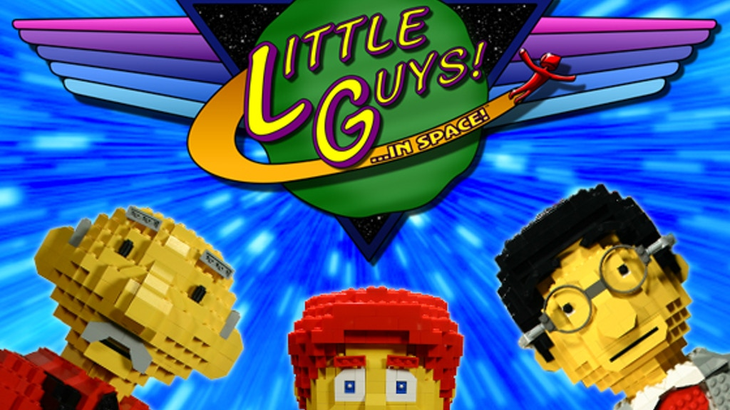 Little Guys...In Space! A LEGO® Fan Film From Paganomation project video thumbnail