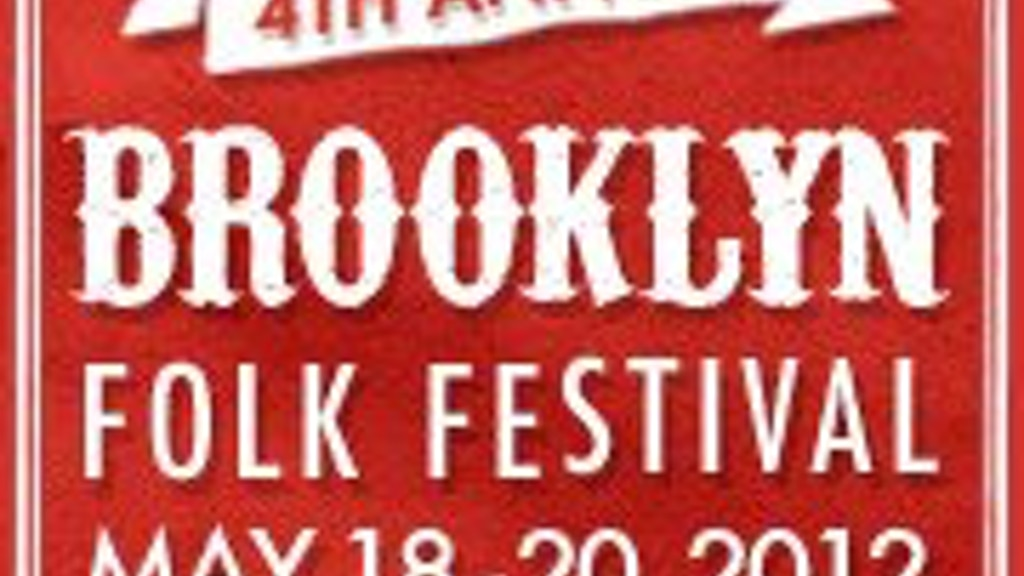 Kickstart the 4th Annual Brooklyn Folk Festival! project video thumbnail