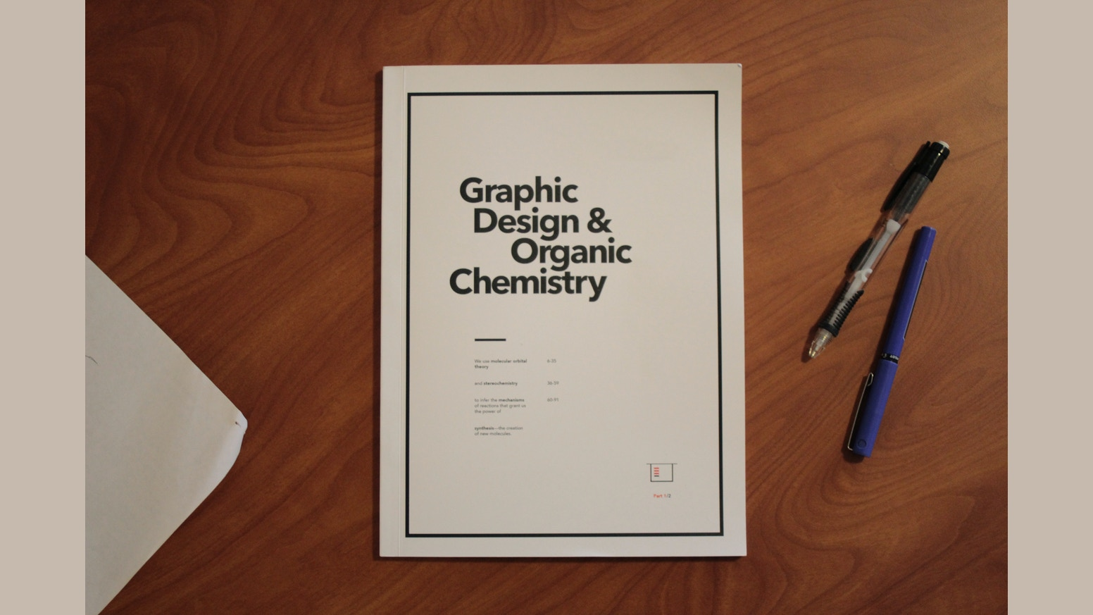 graphic design organic chemistry a visual approach by brian a chemistry book that teaches you to think using design and narrative