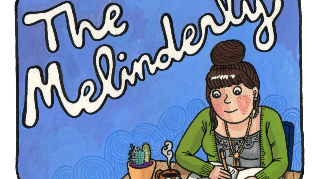 THE MELINDERLY: a comic zine project video thumbnail