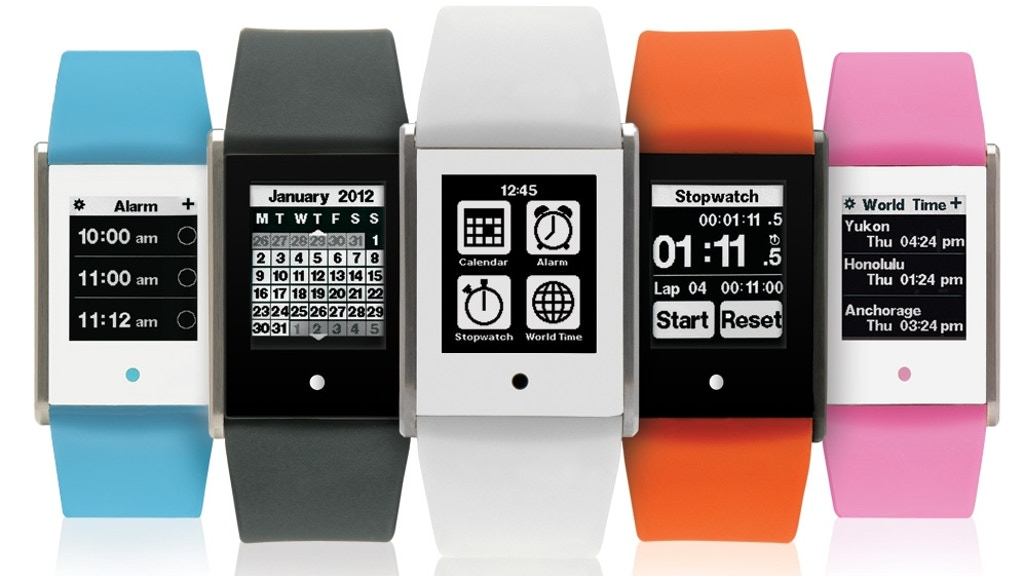 TOUCH TIME: Digital Watch with Touch Screen project video thumbnail
