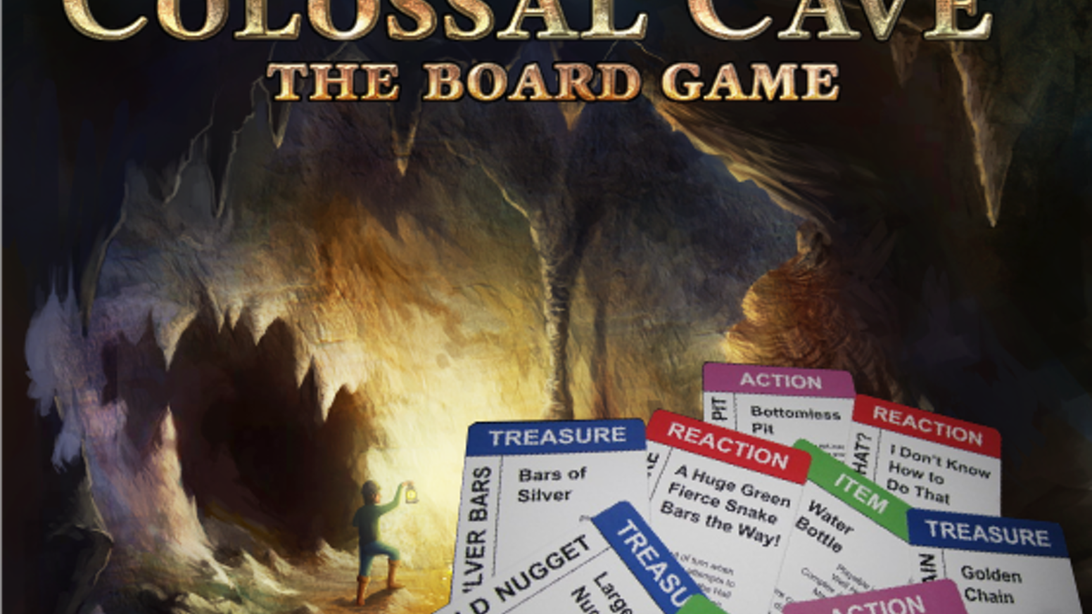Colossal Cave: The Board Game by Arthur O'Dwyer — Kickstarter