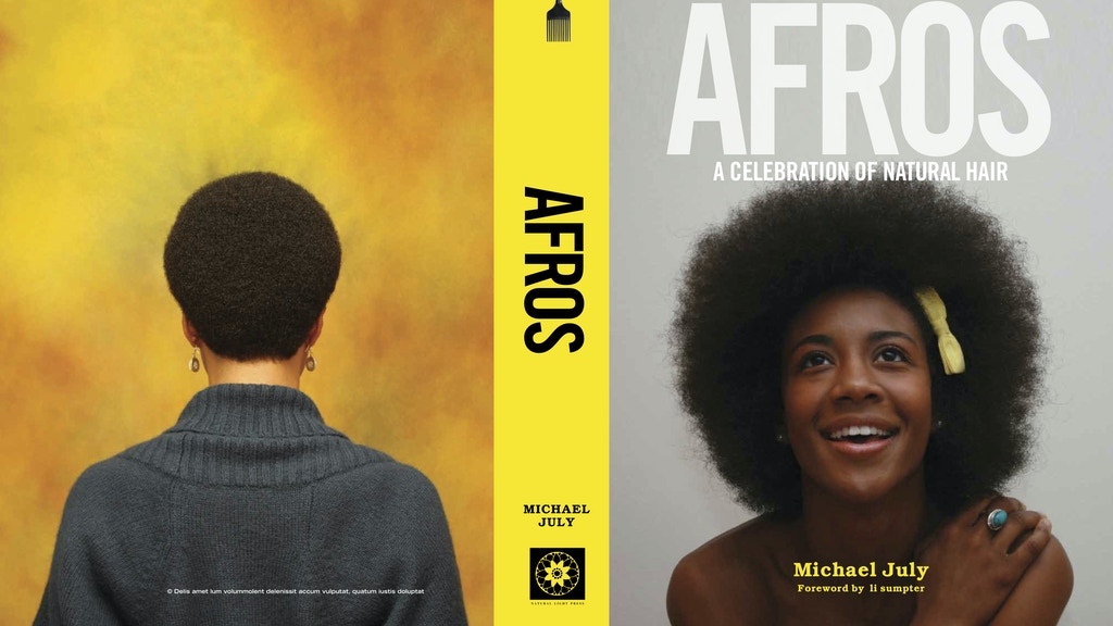 """AFROS - A Celebration Of Natural Hair"" by Michael July project video thumbnail"