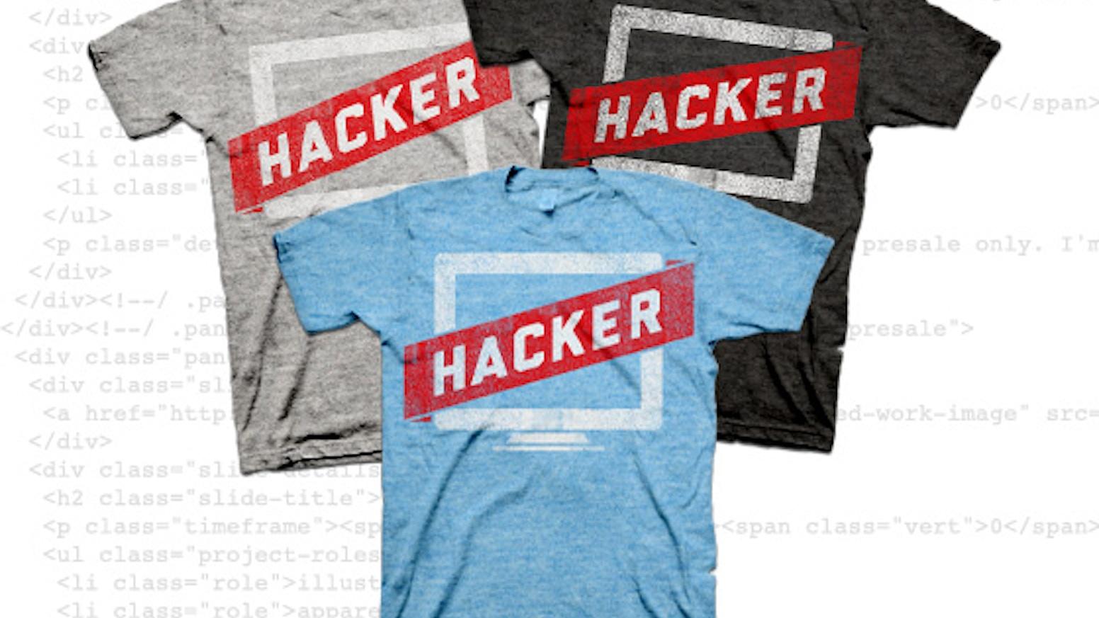 Hacker T-Shirt by Joel Glovier » It's OFFICIAL like black