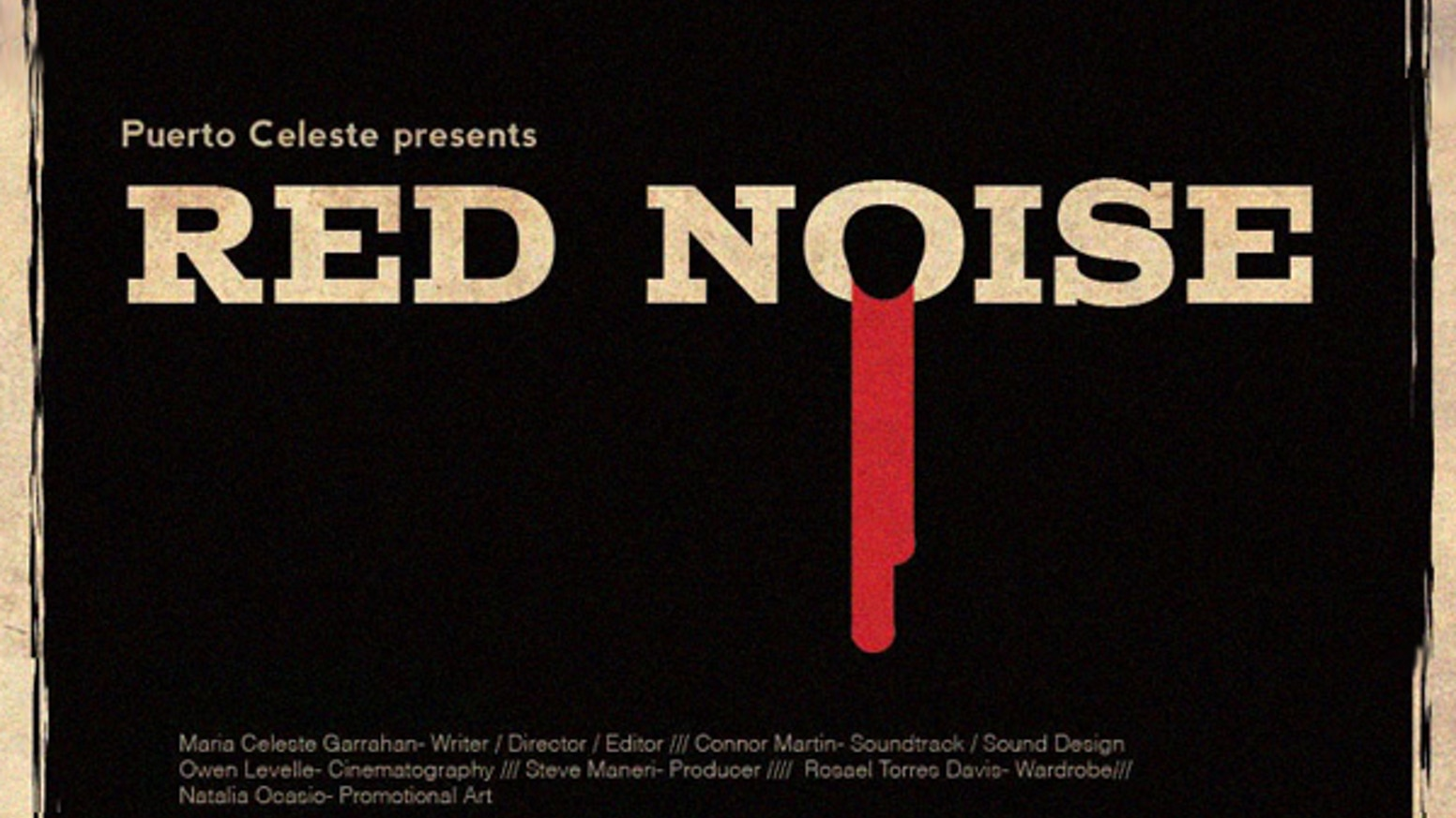"""Red Noise"" is a short film exploring music, paranoia and the human psyche."