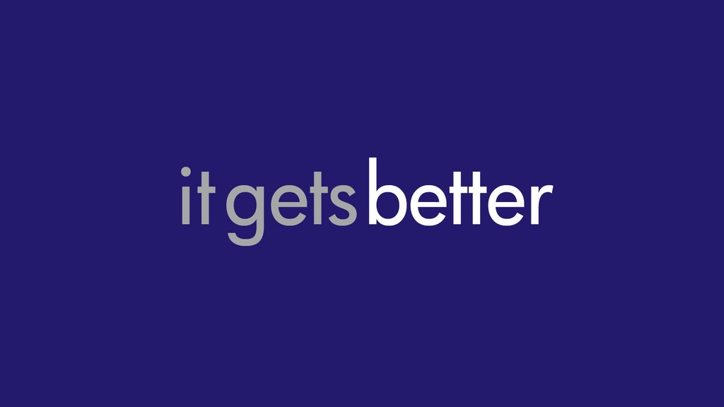 IT GETS BETTER - The Theater Project project video thumbnail