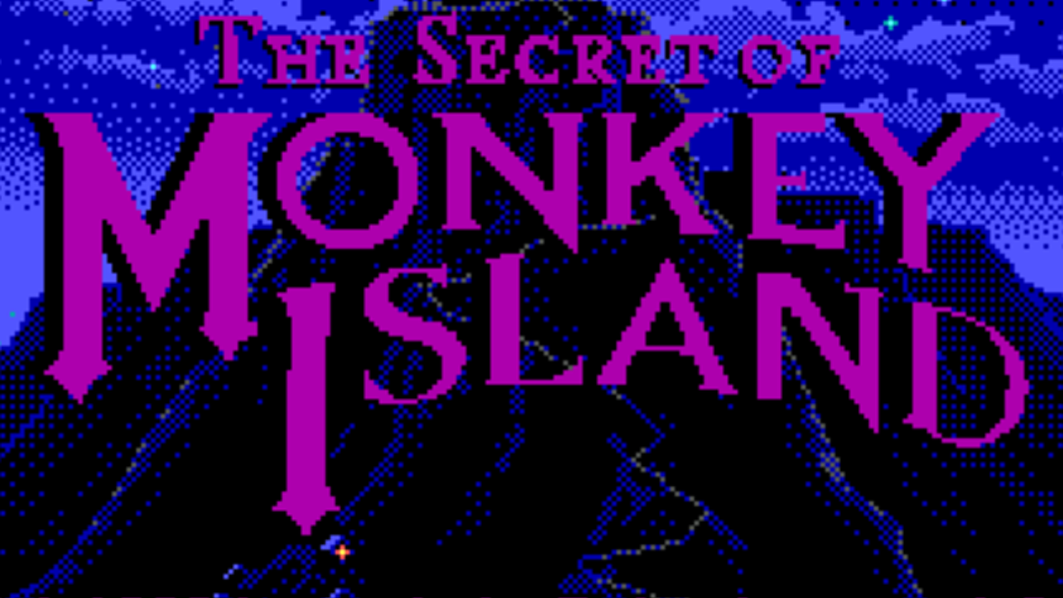 The Secret of Monkey Island LEGO Mosaic by Michael Davis