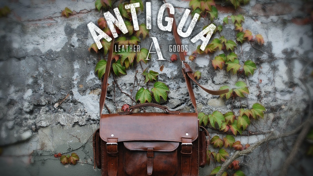 Antigua Leather™ Handmade Leather Cases for Tech Products project video thumbnail