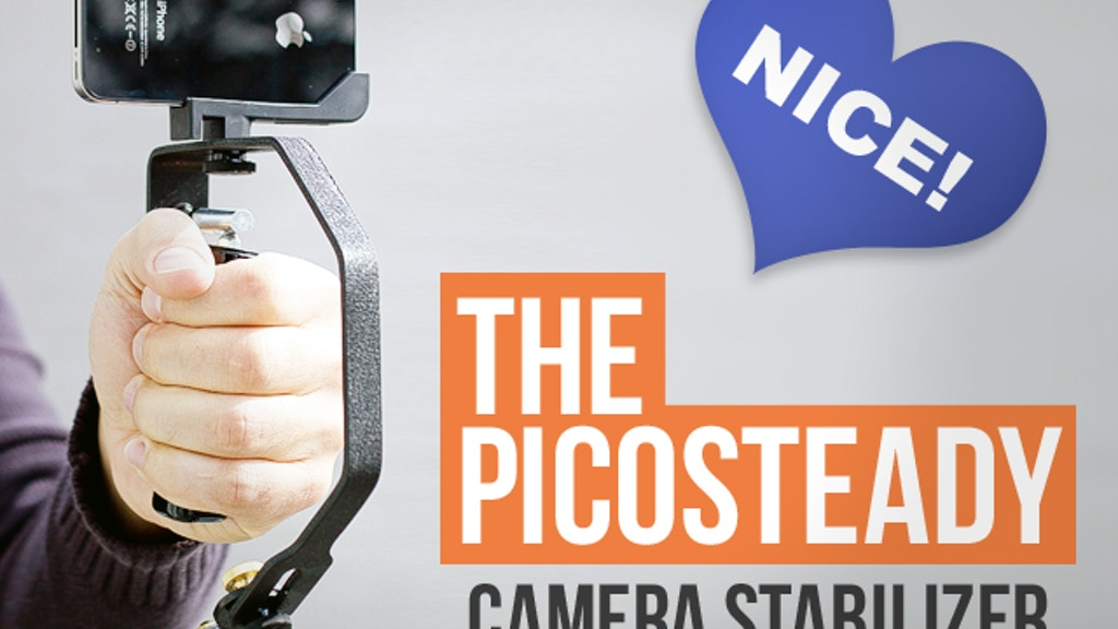 The Picosteady - Video Camera Stabilizer project video thumbnail