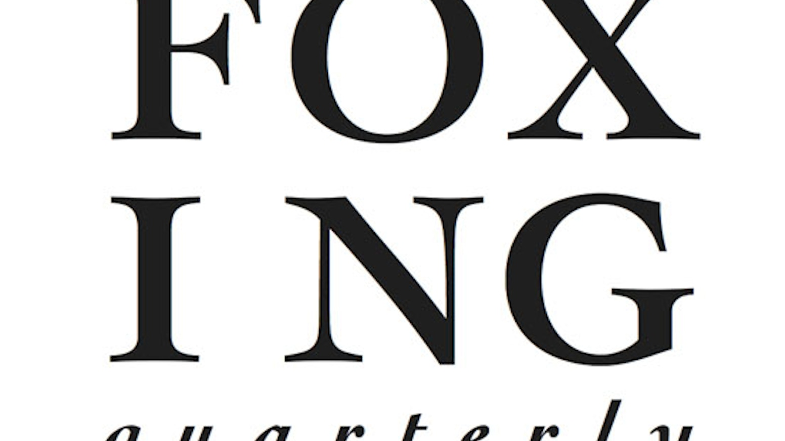 Foxing quarterly a literary journal by daniel mejia deleted foxing quarterly provides a print only creative space for writers and artists biocorpaavc
