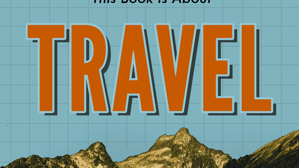 This Book Is About Travel (A Manual For Modern Movement) project video thumbnail