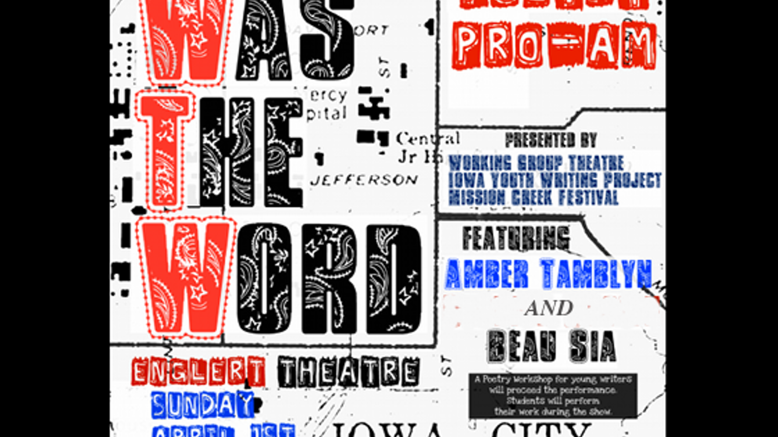 Was The Word: Poetry Pro-Am by Martin Andrews » FAQ — Kickstarter