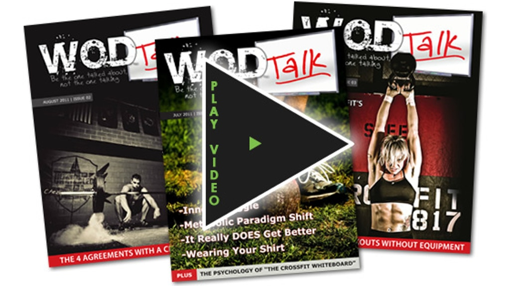 WOD Talk Magazine - The CrossFit Lifestyle Magazine project video thumbnail