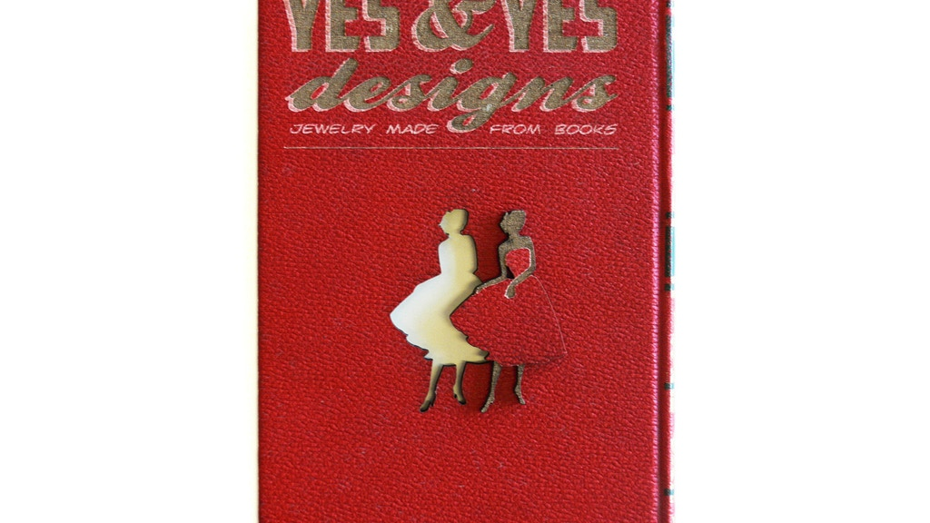 YES & YES DESIGNS- Jewelry made from books! project video thumbnail