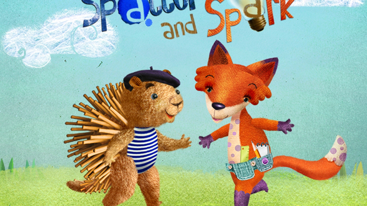 Spatter & Spark: Interactive Story & Activities App for Kids