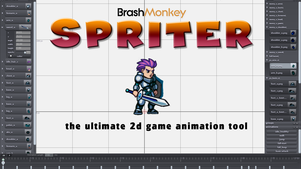 Spriter project video thumbnail