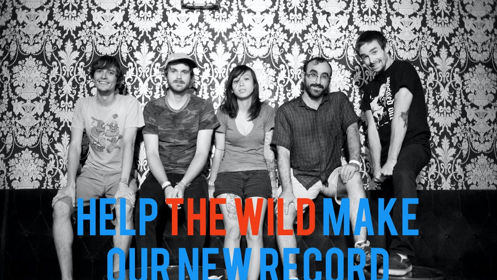 HELP THE WILD MAKE OUR NEW RECORD project video thumbnail