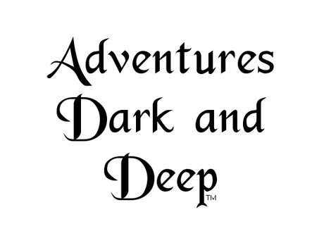 Adventures Dark and Deep Players Manual by BRW Games, LLC