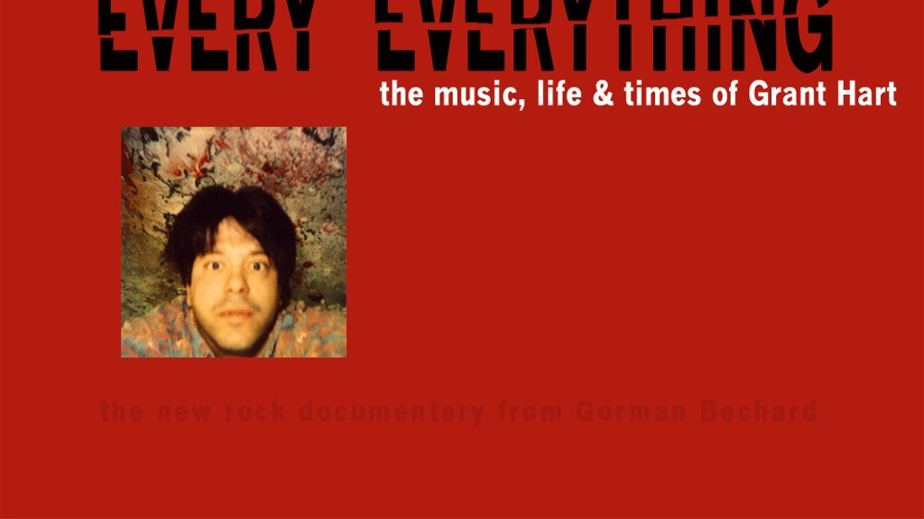 Every Everything, the music, life & times of Grant Hart project video thumbnail