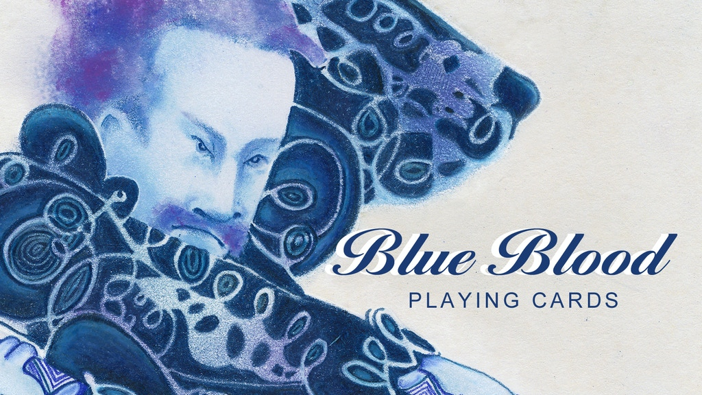 Blue Blood Playing Cards project video thumbnail